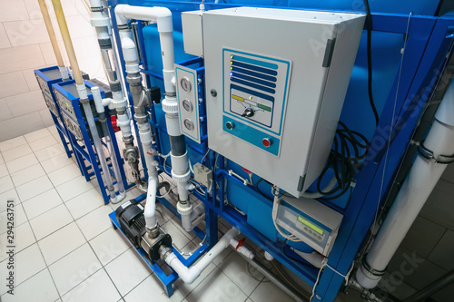 Canvastavla Automated computerized ozone generator machine for ozonation of pure clean drink