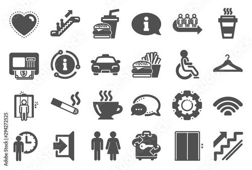 Public Services, Wifi icons Tapéta, Fotótapéta