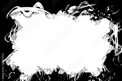 Photo  An abstract photocopy grunge border background.