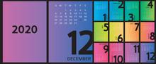 Calendar 2020 And 2021 Templat...