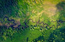 Alaskan Summer - A River Windi...