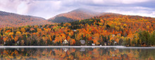 Panoramic View Of Mont Trembla...
