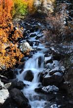 Cascade Water Falls In Rural C...