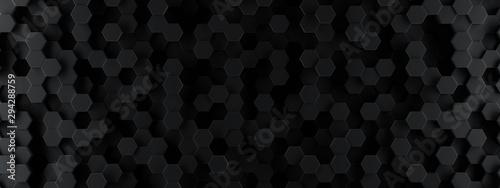 ciemna-szesciokat-tapeta-lub-tlo-3d-odplacaja-sie