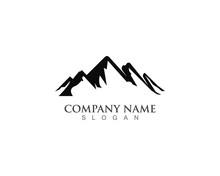 Mountain Nature Logo Business ...