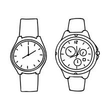 Outline Wristwatch Design