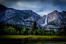 Yosemite Falls Spring Flow