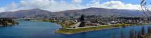 Cromwell Town & Lake Dunstan  Panoramic View, Otago, New Zealand