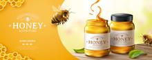 Pure Honey Banner Ads
