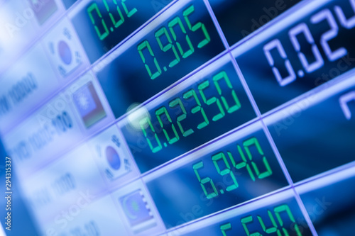 Led Board Currency Exchange Rates