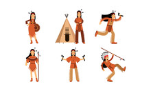 Vector Illustration Characters...
