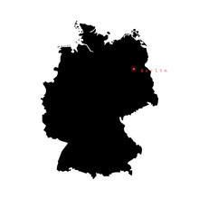 Vector Illustration Of Germany...