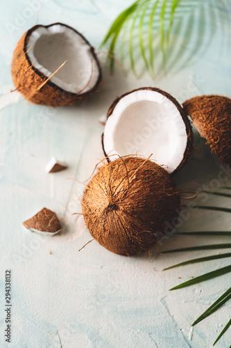Noix de Coco Arrière-Plan