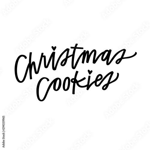 Obraz na plátně  Christmas Cookies