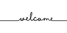 Welcome - Continuous One Black...