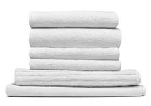 Towel Cotton Bathroom White Sp...