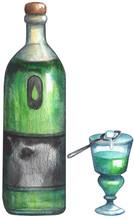 Watercolor Absinthe