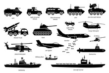 Military Combat Vehicles, Tran...