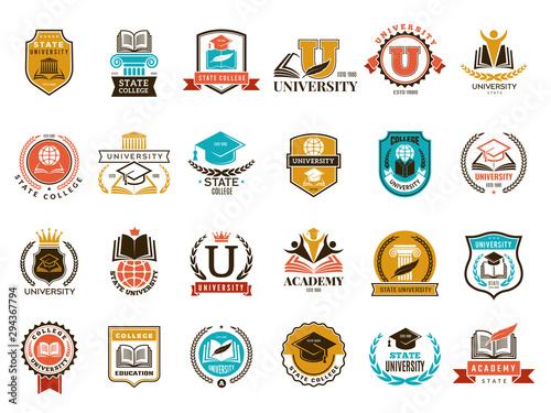Fotomural  College emblem