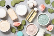 Clay Mask On Pink Bakground, S...
