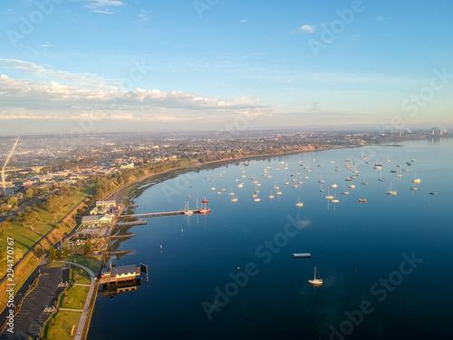 Waterfront Geelong, Victoria, Australia Canvas Print
