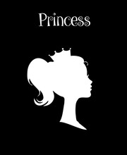 Princess Or Queen Profile Silh...