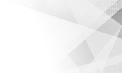 design white light & grey geometric background.