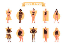 Male And Female Body Shapes Se...