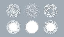 Lace Doily Lasercut Paper Roun...