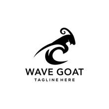 Illustration Goat Logo Icon Wa...