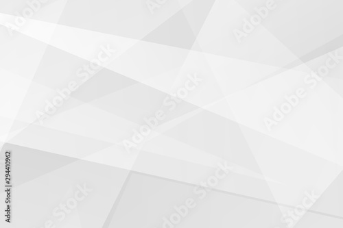 Fotografie, Tablou Abstract white and grey on light silver background modern design