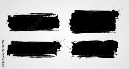 Obraz Grunge banners - fototapety do salonu
