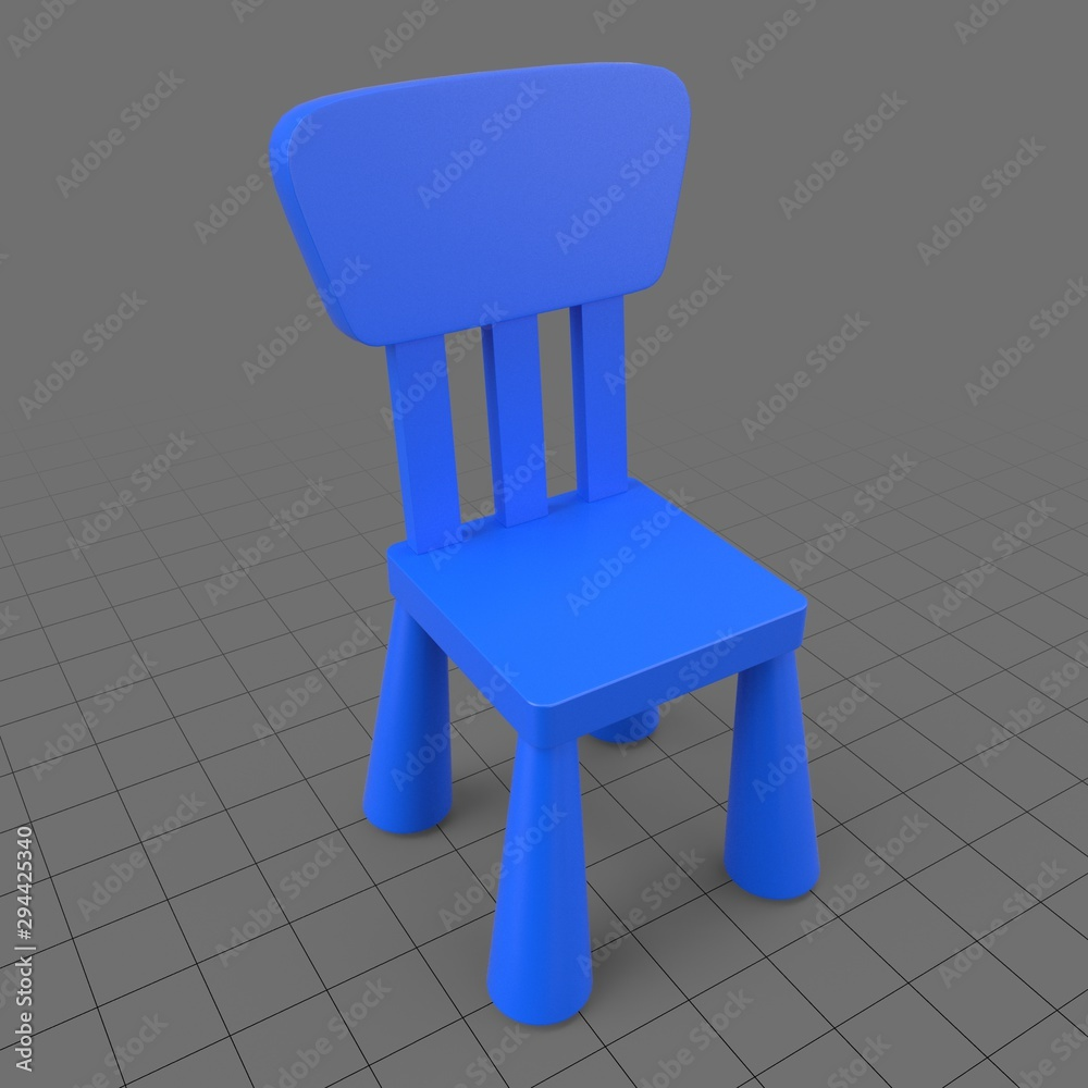 Fototapety, obrazy: Children chair