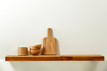 Wooden Kitchen Shelf Of Free S...