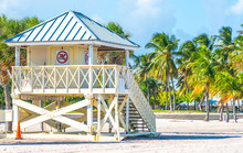 Lifeguard Tower On The Beach O...