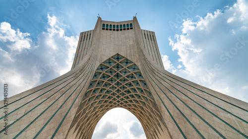 Azadi Tower in Azadi square in the Iranian capital Tehran