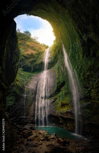 The Madakaripura waterfall on Java, Indonesia - 294455179