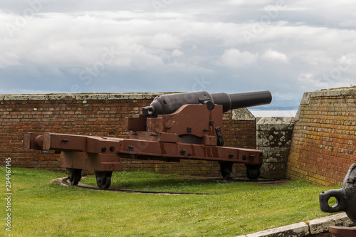 Fototapeta Fort George - Historic 18th Century Military Fortress near Inverness