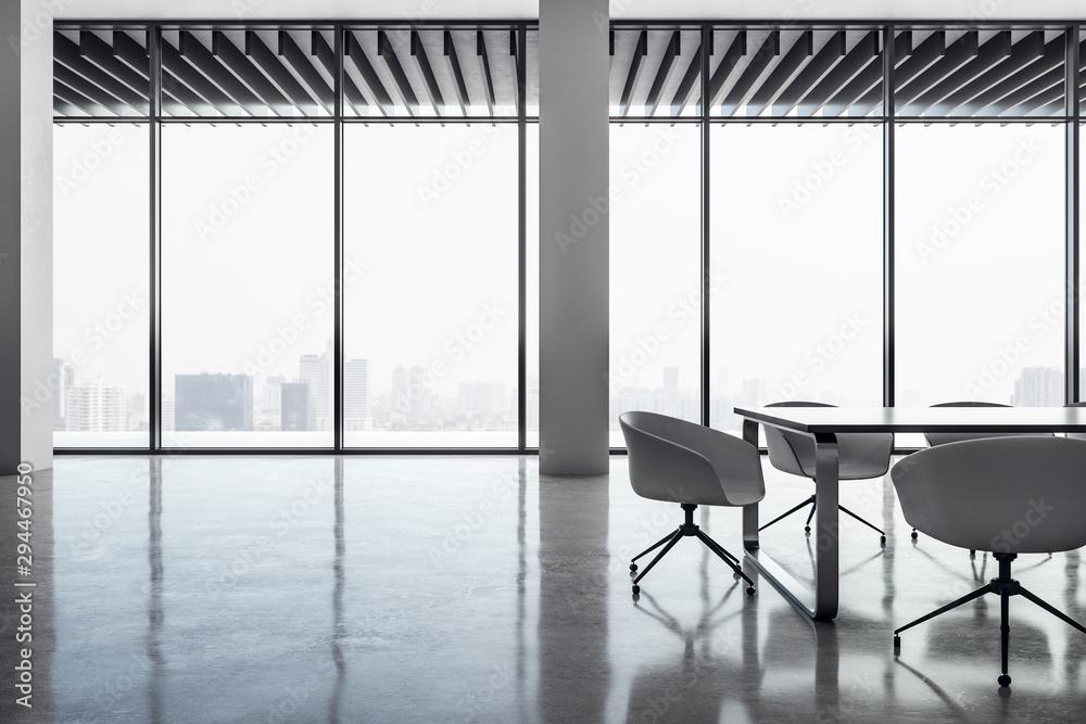 Fototapeta Modern meeting room interior