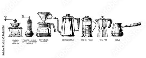 Zestaw do przygotowania kawy