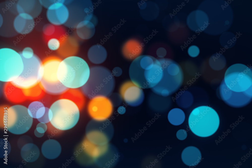 Creative bokeh wallpaper