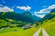 Way to Splügen, Graubünden, Switzerland