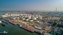 Oil Refinery Plant From Indust...