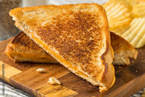 Fototapeta Homemade Grilled Cheese Sandwich obraz