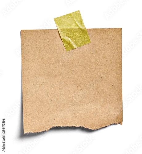 Cuadros en Lienzo note paper blank sign tag label