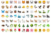 Emoji Of Animals And Plants An...