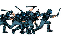 Police Squad. Authoritarian An...