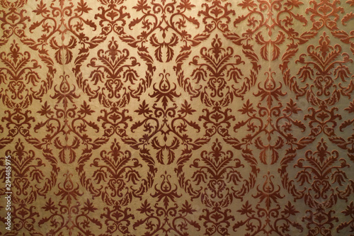 trama floreale carta da parati clip art medievo tessuto velluto