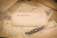 Old Handwritten Postcards