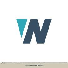 W Letter Logo Template Illustr...